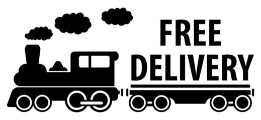 train and platform for cargo