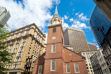 The Old South Meeting House in Boston