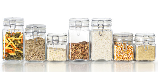 Legumes jars