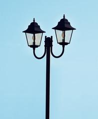 Lampione doppio