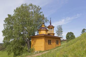Часовня Успения Божией Матери в деревне Марковская