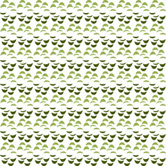 Abstract seamless texture in green