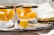 melon segments dessert