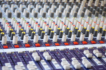 Large Music Mixing desk