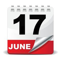 17 JUNE ICON
