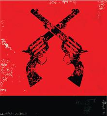 Gun symbol,vector
