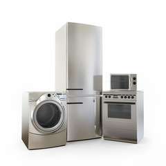 Electronics Fridge Microwave washer and electric-cooker