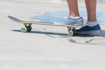 skateboard blu
