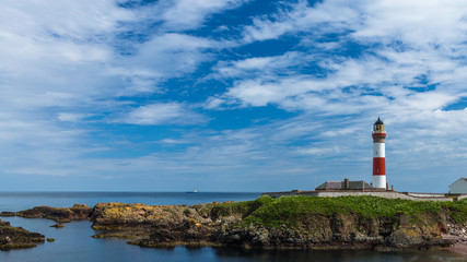Buchan Ness lighthouse at Boddam
