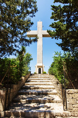Big Cross on the Filerimos Hill, Rhodes