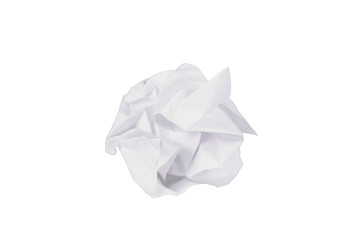 crumpled office paper
