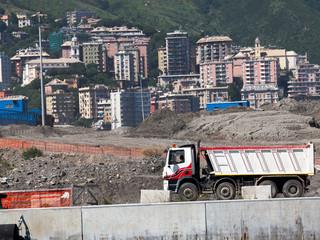 Camion per il Trasporto di detriti