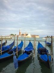 gondola parked