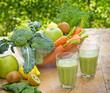 Green smoothie (green juice)