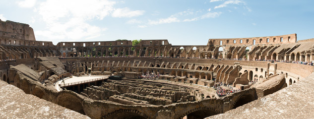 Inside the Colosseum (Coliseum) in Rome (HUGE)