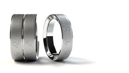3つの指輪と12の星座