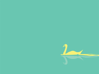 swan background vector