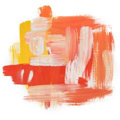 Gouache acrylic art paint brush rough dab stroke texture spot