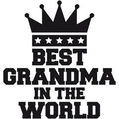 Best Grandma in the World Queen