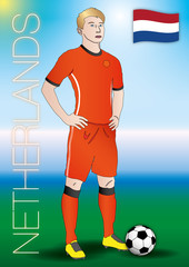 netherlands soccer player