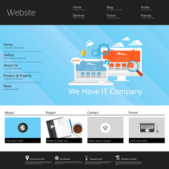 Modern Website Template