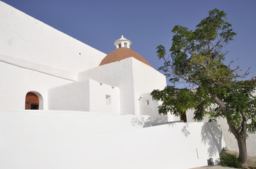 St. Eulalia church in Ibiza