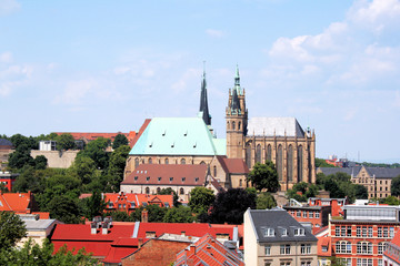 Erfurt Altstadt mit Erfurter Dom