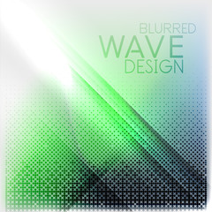 Textured blurred color wave background