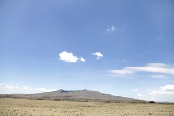 Mount Longonot in the Rift valley of kenya