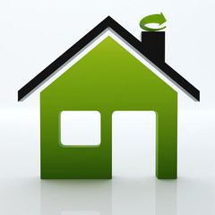 3d ecological greenhouse ICON