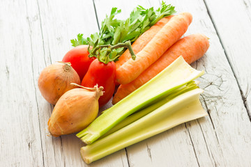 Vegetables for vegetable broth