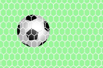 make score a goal. vector