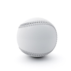 Baseball-Ball on White Background