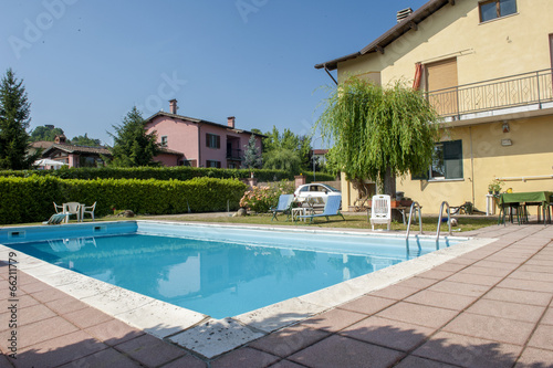 swimming pool  of a private home - 66211779