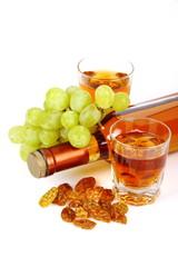 Vino passito con uva
