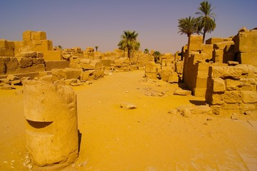Luxor Ruins in Egypt