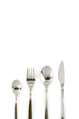 spoon fork knife set