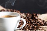 Fototapety Steaming coffee