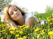 Young beautiful woman enjoys the summer :)
