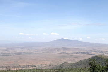 Beautiful Mount Longonot in Kenya