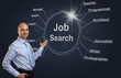 job search concept