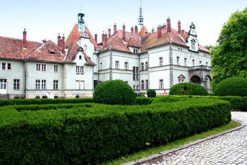Ukraine. Hunting Shenborn castle