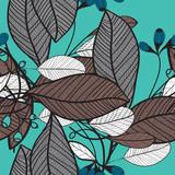 Flower pattern seamless, Eps 10