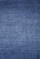 Texture of jeans material