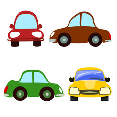Abstract car vector