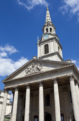 St. Martin in the Fields Church in London