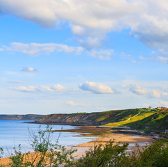 Scarborough coastline view - looking South