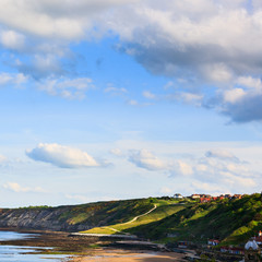 Scarborough coastline view - looking South