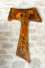 TAU, sign of Saint Francis of Assisi