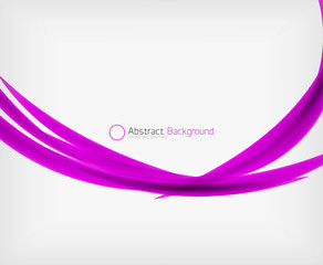 Abstract shape background design template